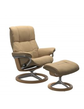 Stressless Mayfair Signature Chair & Stool Promo