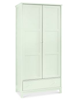 BENTLEY DESIGNS ATLANTA WHITE DOUBLE WARDROBE