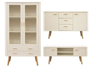Scandinavian Style White Furniture